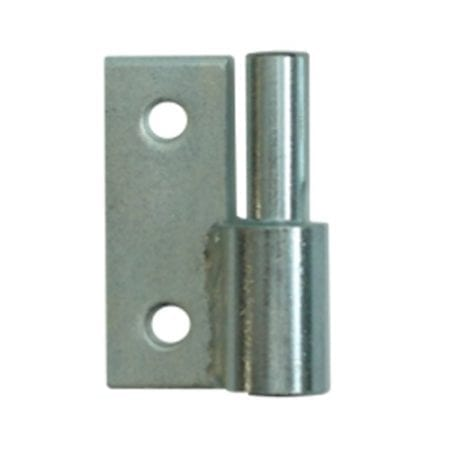 Light Duty Butt Hinge - 12mm Right  Male BH12R