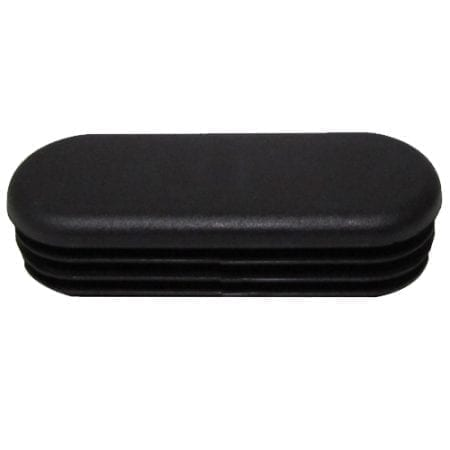 Oval - Plastic End Rail Cap - PCO9742