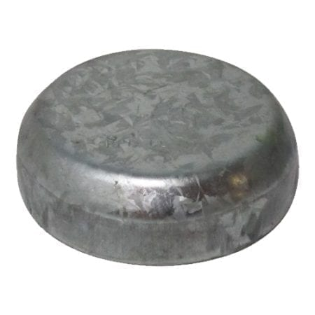 100NB Round Post Cap - Galvanised - RPC100