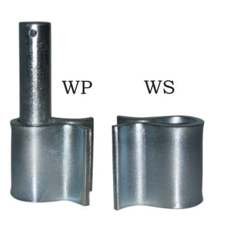 Weld on Hinges - Sleeve & Pin (Pair) WSWP16