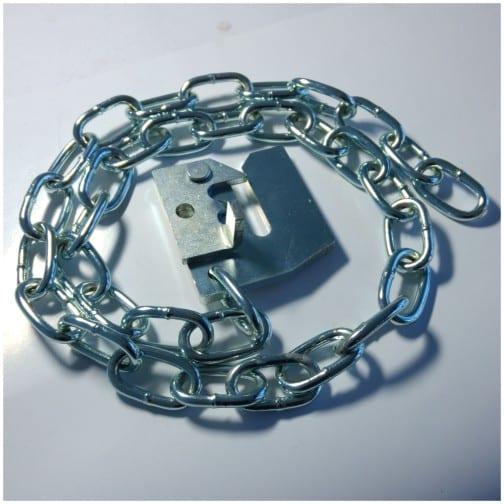 Lockable Chain Latch